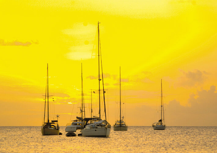 Sunset in St Lucia - Optimized